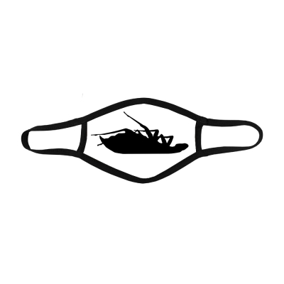 papa-roach - Classic Logo Face Mask (White)