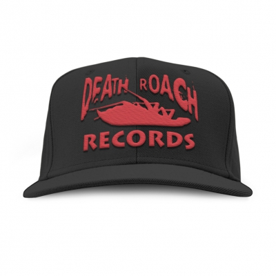 Death Roach Records Snapback Hat (Black)