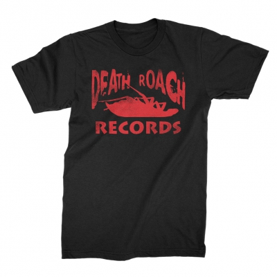 papa-roach - Death Roach Records Tee (Black)