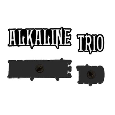alkaline-trio - Paired Logo Enamel Pins