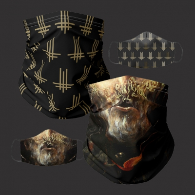 behemoth - Triumviratus & Satanist Face Mask & Neck Gaiter Bundle