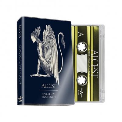 alcest - Spiritual Instinct Cassette (Clear w/Gold)
