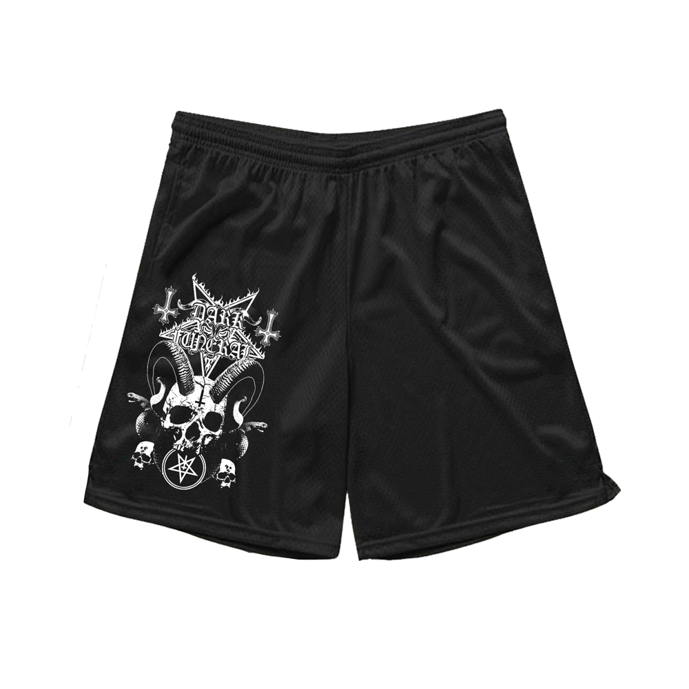IMAGE   Order Of The Black Horde Mesh Shorts