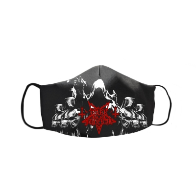 dark-funeral - Cloak Face Mask (Black)