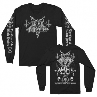 Dark Funeral - Order Of The Black Hordes Long Sleeve (Black)