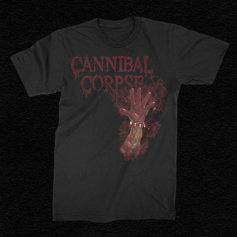 IMAGE | Bloody Hand T-Shirt (Black)