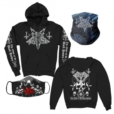 dark-funeral - Hoodie + Cloak Face Mask + Secrets Gaiter Bundle