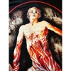 IMAGE | The Bleeding Bloody Oval T-Shirt (Black) - detail 2