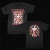 IMAGE | The Bleeding Bloody Oval T-Shirt (Black) - detail 1