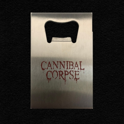 cannibal-corpse - Red Logo Bottle Opener