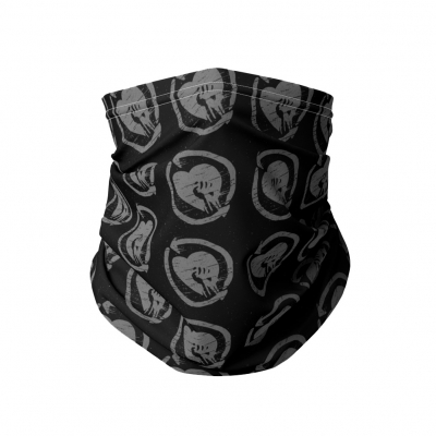 rise-against - HeartFist Neck Gaiter (Black)