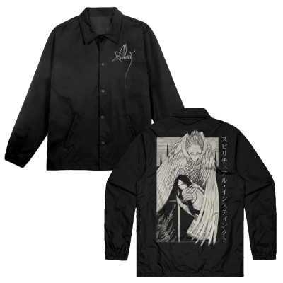alcest - Samurai Windbreaker (Black)