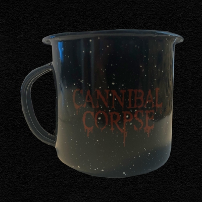 cannibal-corpse - Red Logo Camping Mug