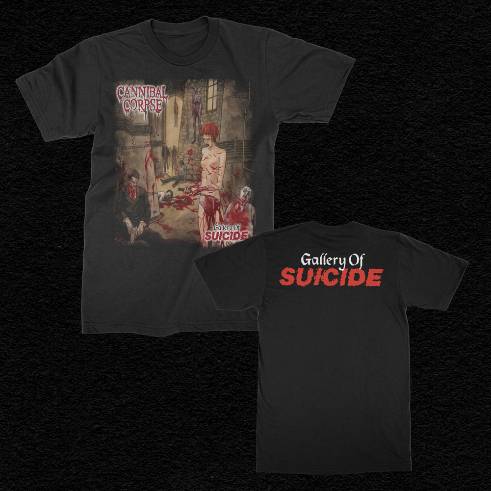 IMAGE   Gallery Of Suicide T-Shirt (Black)