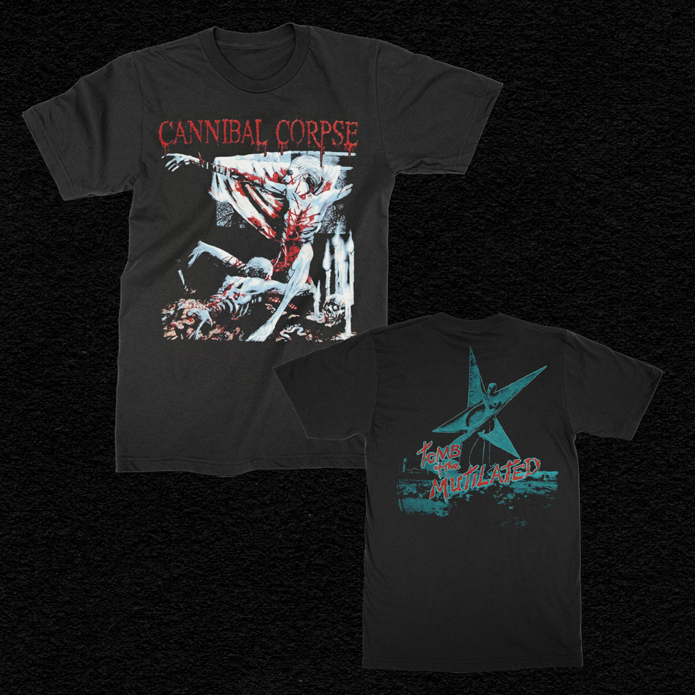 IMAGE   Tomb Of The Mutilated T-Shirt (Black)