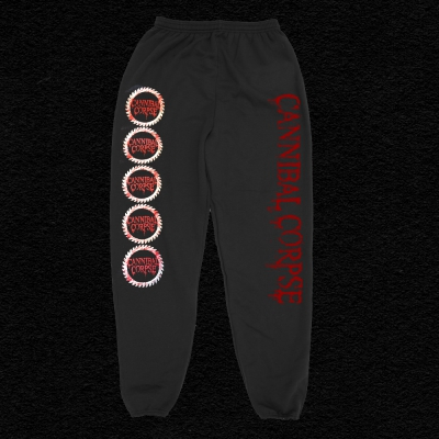 cannibal-corpse - Logo Saw Blade Sweatpants
