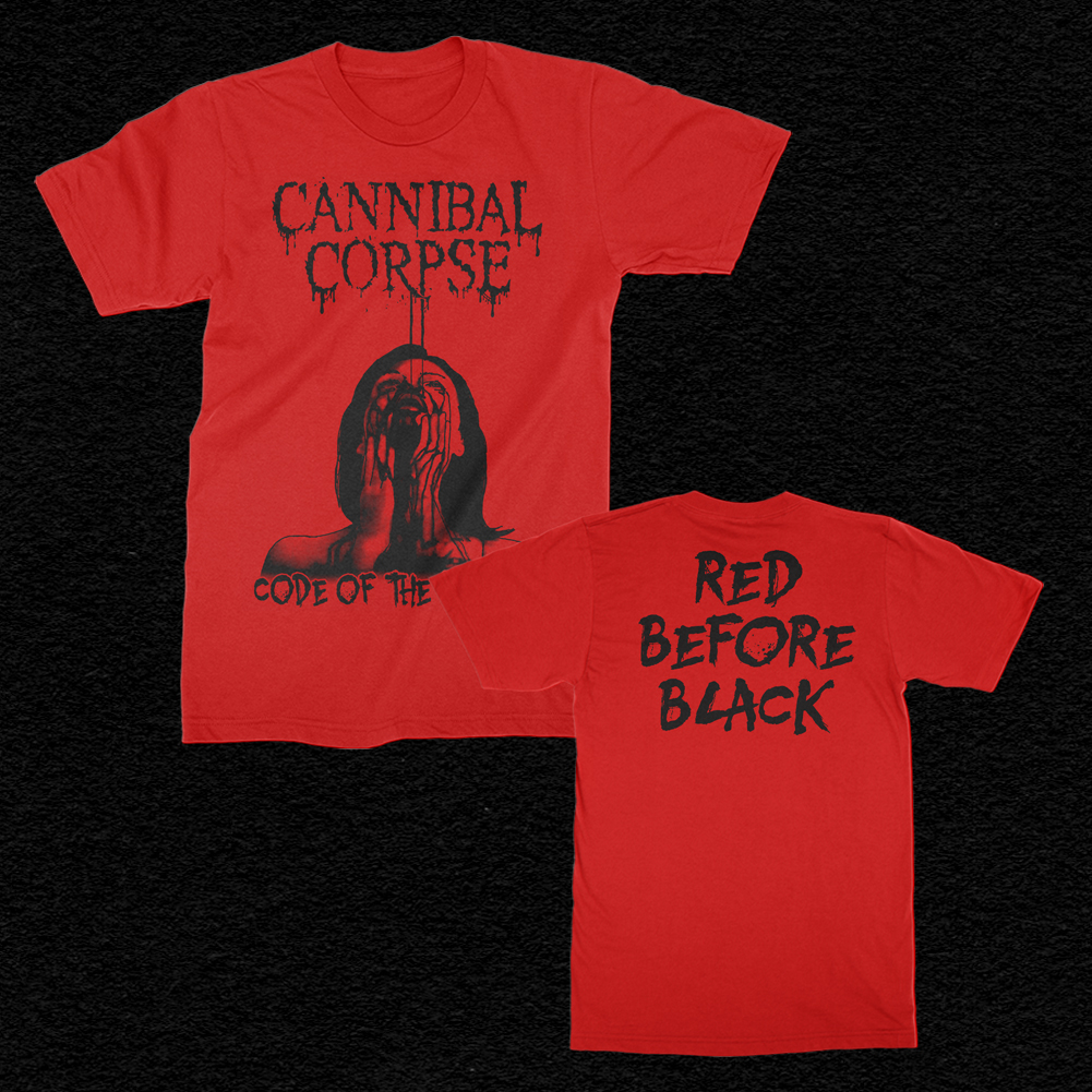 IMAGE   Code Of The Slashers T-Shirt (Red)