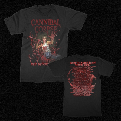 2017 Red Before Black Tour T-Shirt (Black)