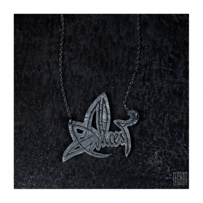 alcest - Alcest Logo Necklace