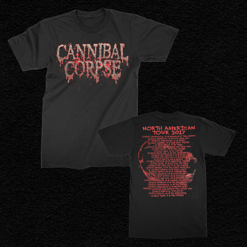 2017 Logo Tour T-Shirt (Black)