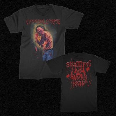 Shedding My Human Skin T-Shirt (Black)