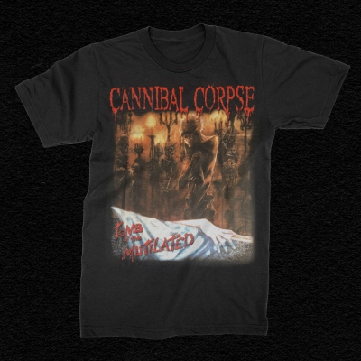 Tomb Of The Mutilated Censored T-Shirt (Black)