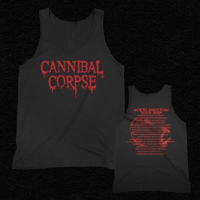 cannibal-corpse - 2019 Logo Tour Tank Top (Black)