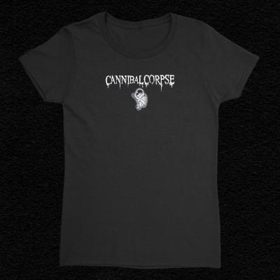 Logo Fetus Womens Babydoll T-Shirt (Black)