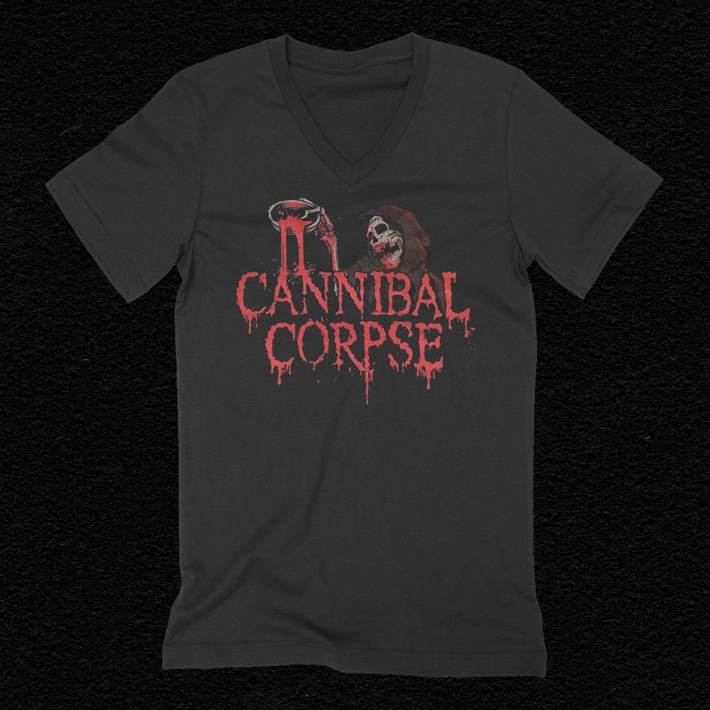 IMAGE   Blood Ghoul Women's V-Neck T-Shirt (Black)