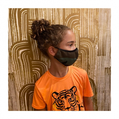 ziggy-marley - Limited Edition Kids Camo Face Mask (9-12 Years)
