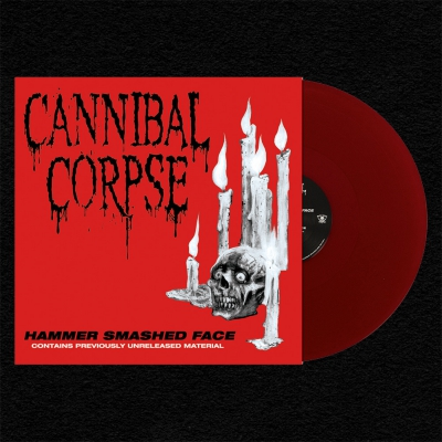 Hammer Smashed Face LP (Opaque Red)