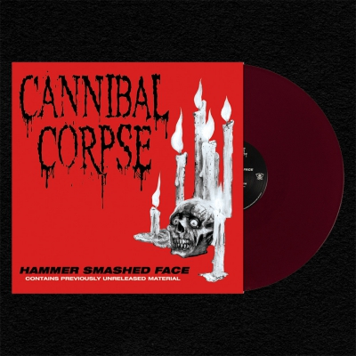 Hammer Smashed Face LP (Opaque Oxblood)