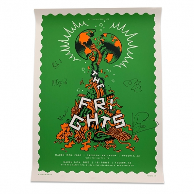 the-frights - Crescent Ball Green Poster (Signed)
