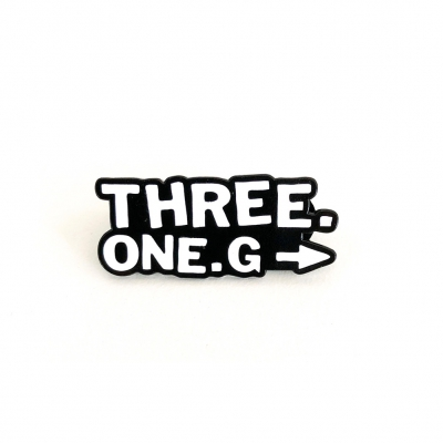 three-one-g - Logo Enamel Pin