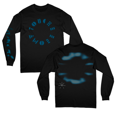 touche-amore - Stencil Logo Long Sleeve Tee (Black)