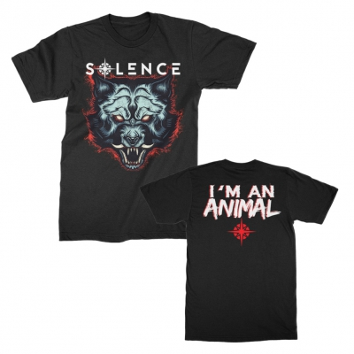 Animal In Me Tee (Black)