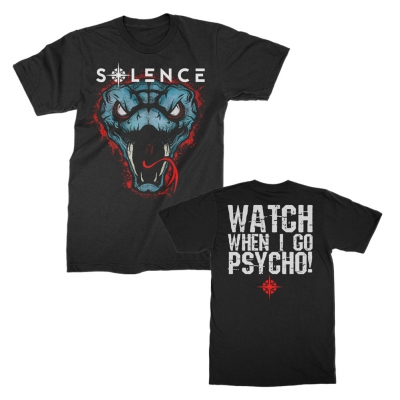 solence - Snakes Tee (Black)