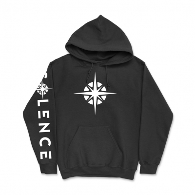 solence - Compass Pullover Hoodie (Black)
