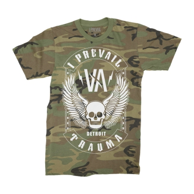 i-prevail - Winged Skull Tee (Camo)