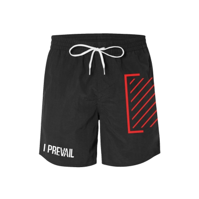 Trauma Logo Board Shorts (Black)