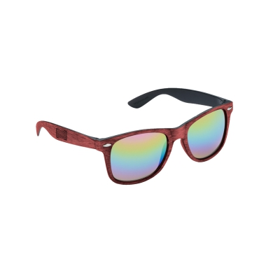 Trauma Symbol Sunglasses (Red)