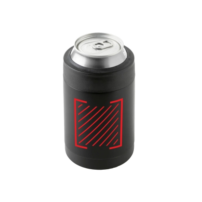 Trauma Logo Bottle/Can Coozie (Black)