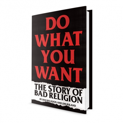 bad-religion - Do What You Want Book