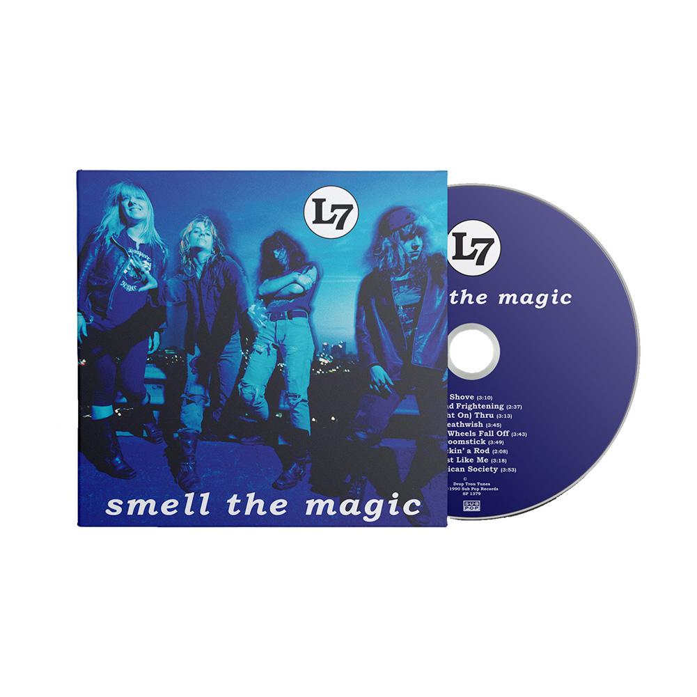 IMAGE   Smell The Magic Reissue CD (Digipak)