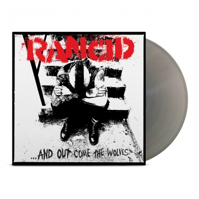 rancid - And Out Come The Wolves 25th Anniversary LP (Silve