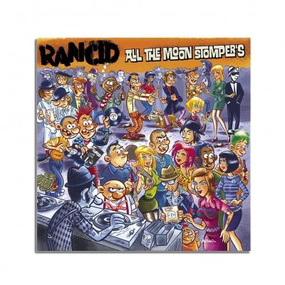 Rancid All The Moon Stomper's CD