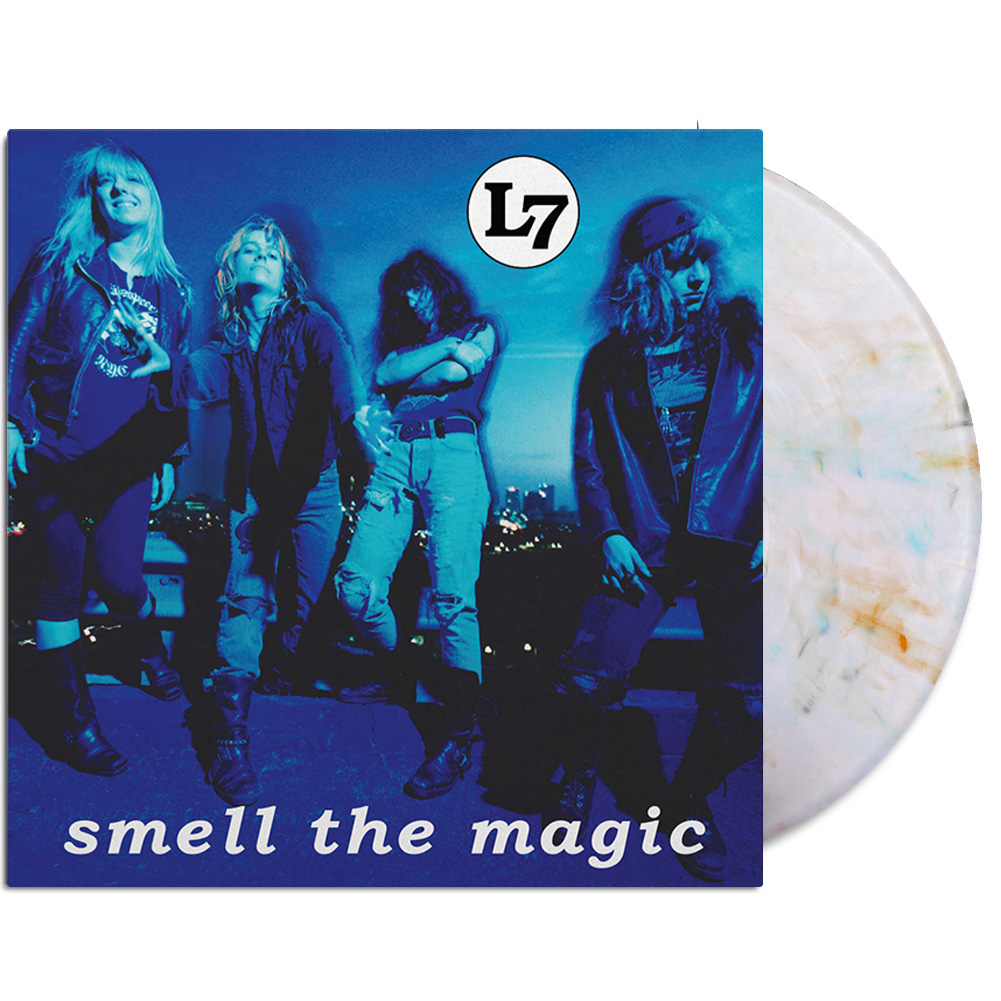 Smell The Magic Reissue LP (Clear/Orange/Blue/Gray