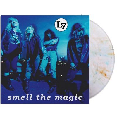 l7 - Smell The Magic Reissue LP (Clear/Orange/Blue/Gray