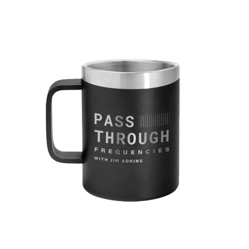 IMAGE | Pass Through Frequencies Thermal Mug (Black)