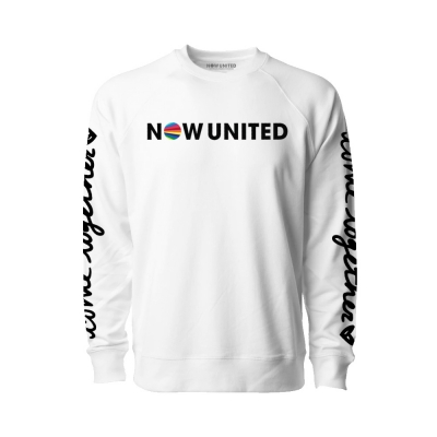 now-united - Come Together Crew Neck (White)
